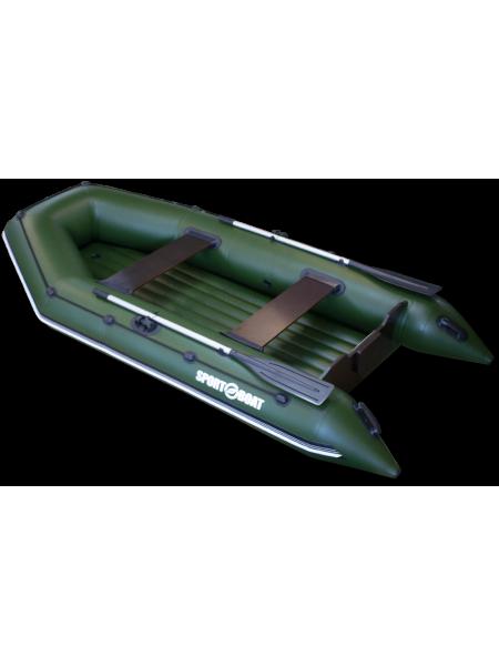 Надувная моторная лодка с надувным дном Neptun N340LD