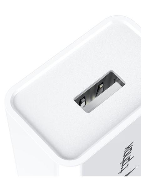Сетевое зарядное устройство T-PHOX Mini 12W 2.4A + Lightning Cable 1.2m White