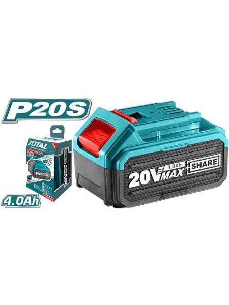 Аккумулятор TOTAL TFBLI2002 Li-ion 20В, 4А.