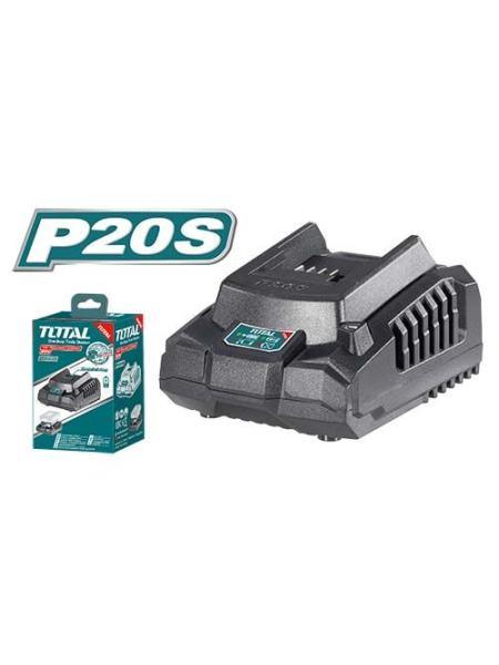 Зарядное устройство для шуруповертов TOTAL TFCLI2001 20В
