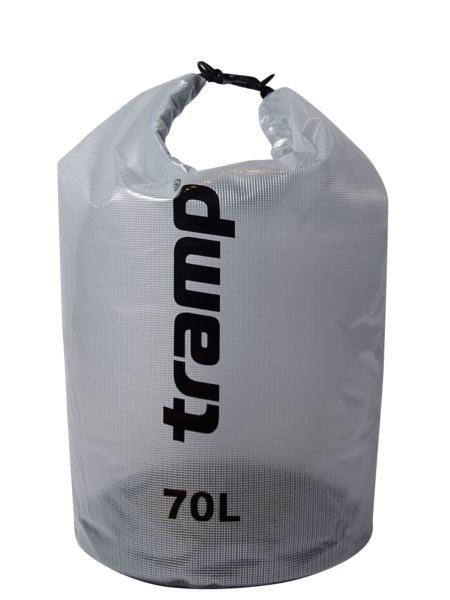 Гермомешок Tramp прозрачный 70л (TRA-108)
