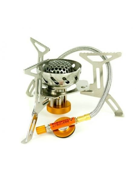 Горелка газовая со шлангом и двойной встроенной ветрозащитой Tramp TRG-047 (TRG-047)
