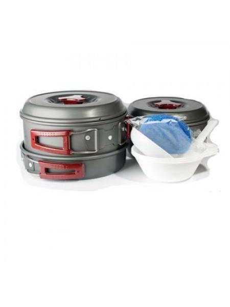 Набор посуды из анодированого алюминия Tramp TRC-024 (TRC-024)