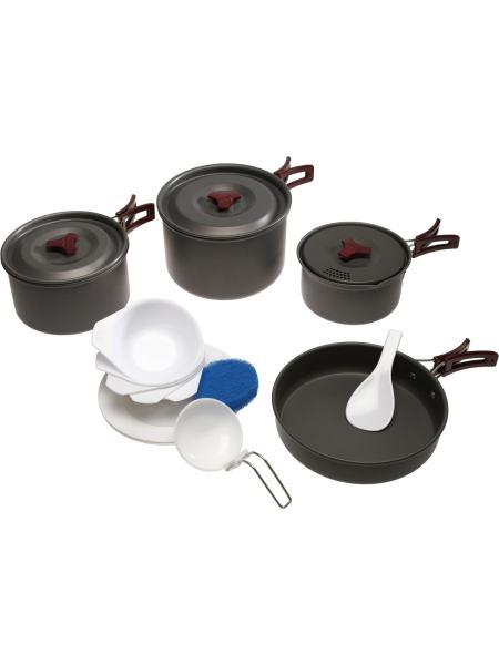 Набор посуды из анодированого алюминия Tramp TRC-026 (TRC-026)