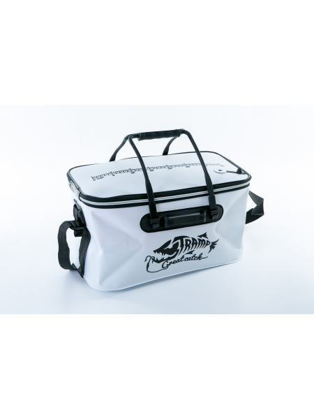 Сумка рыболовная Tramp Fishing bag EVA White - M (TRP-030-White-M)