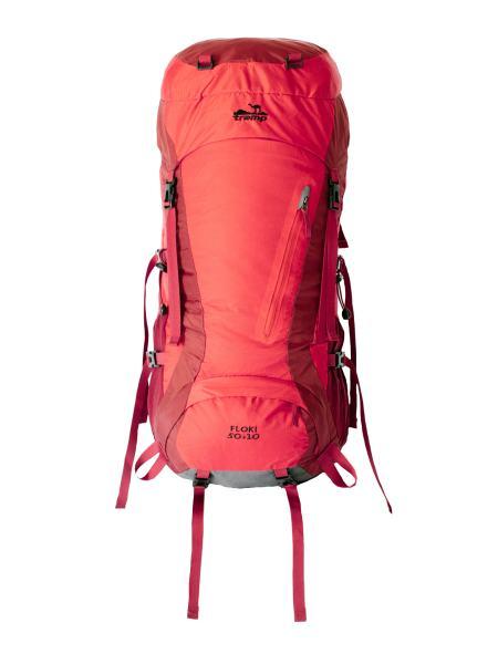 Туристический рюкзак Tramp Floki 50+10 красный (TRP-046-red)