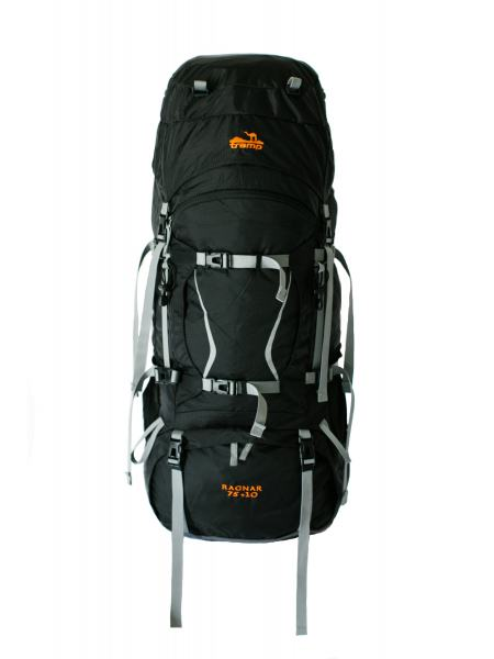 Туристический рюкзак Tramp Ragnar 75+10 черный (TRP-044-black)