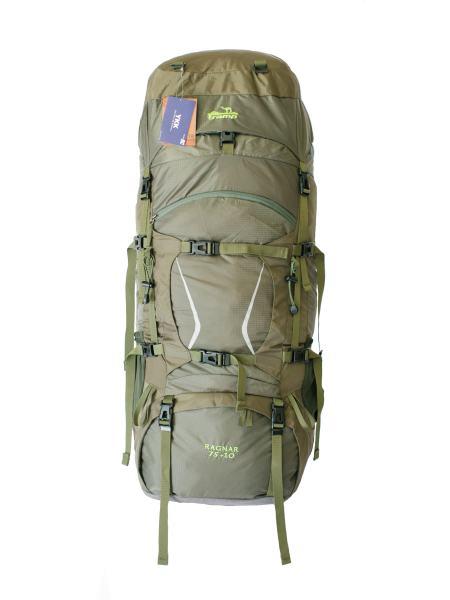 Туристический рюкзак Tramp Ragnar 75+10 зеленый (TRP-044-green)
