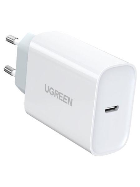 Сетевое зарядное устройство Ugreen CD127 Type-C PD 30W Charger White