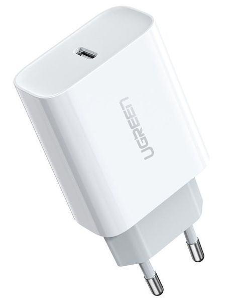 Сетевое зарядное устройство Ugreen CD137 Type-C PD 18W Charger White