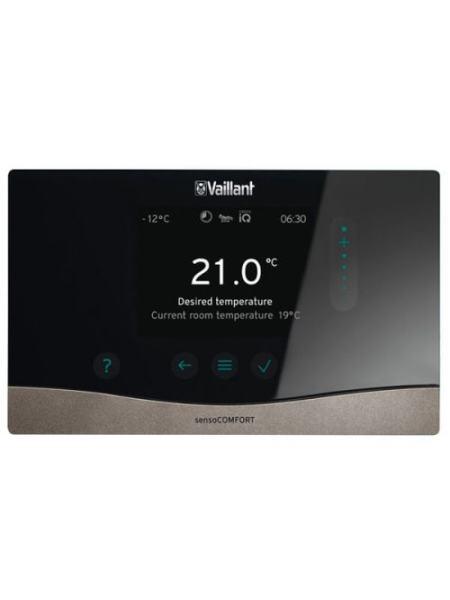 Программируемый погодозависимый регулятор с сенсорным управлением Vaillant sensoCOMFORT VRC 720 f с шиной eB (0020260936)