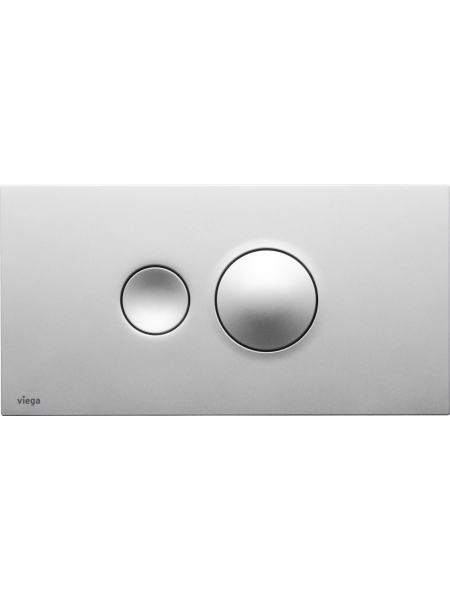 Кнопка смыва Visign for Style 10, матовый хром (596347)