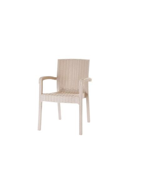 Кресло VIOLET HOUSE 0840 CAPPUCHINO TREND LUX Ротанг