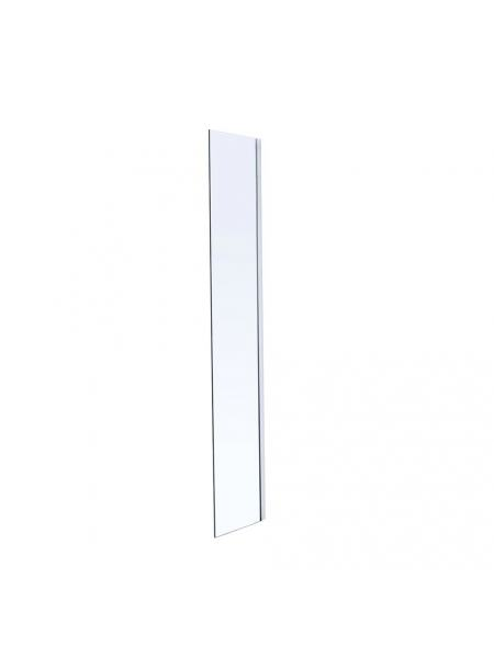 Стенка Walk-In 30*190см, каленое прозрачное стекло 8мм