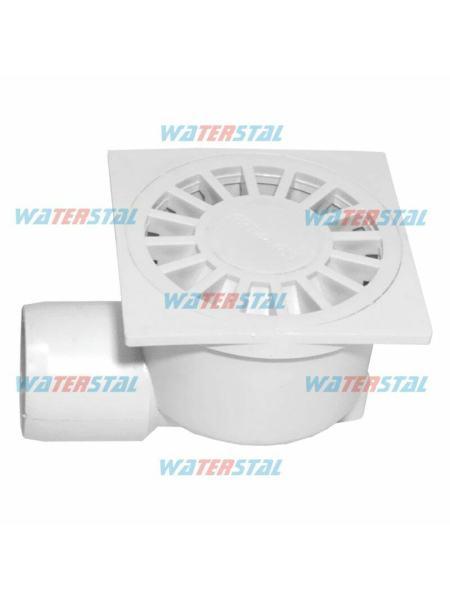 """Трап 150*150 мм, боковой отвод, D 50, пластиковый """"Waterstal"""" (YS 425)"""