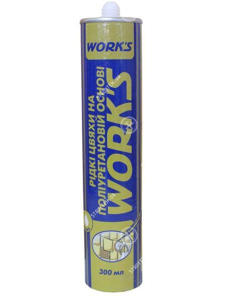 Works Клей жидкие гвозди на полиуретановой основе 360 гр