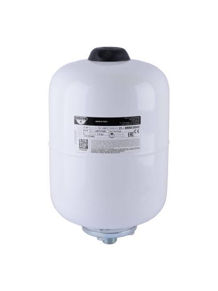 Гидроаккумулятор cо сменной мембраной   8л ZILMET HY-PRO 10bar, белый